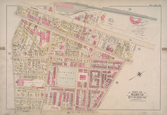 """Part of Ward 18, City of Boston (Plate 20)"" from Atlas of the City of Boston, Boston Proper and Roxbury"