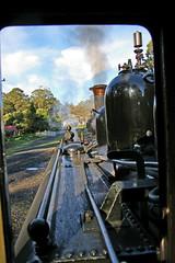 Puffing Billy vintage steamtrains Belgrave, Victoria, australia 2009