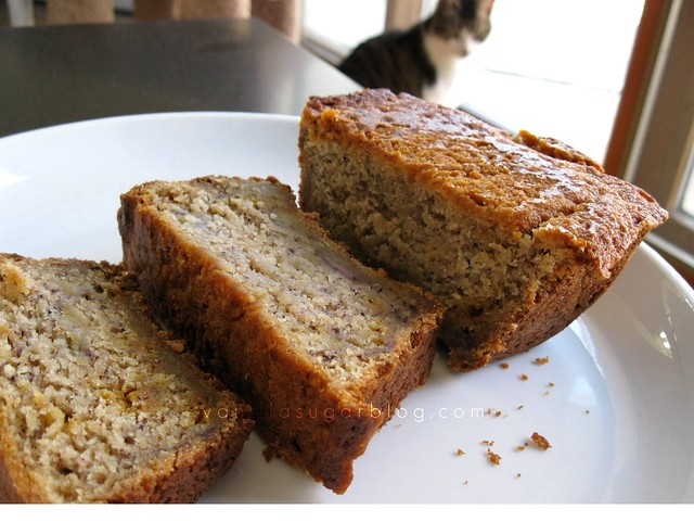 butterscotch-banana bread