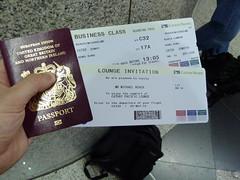 Heading to Hong Kong