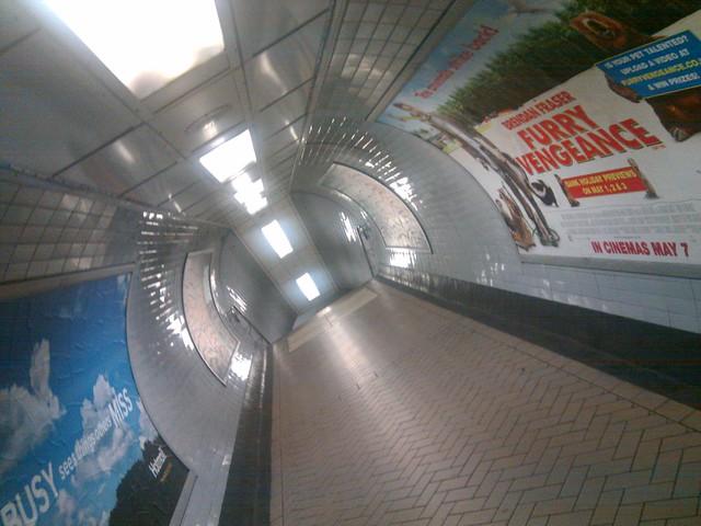 Empty Underground, Highbury