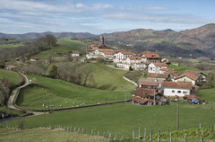 Town in the mountains in Navarra