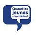 """HEAJ 2008-2009 : """"Quand les jeunes s'en mêlent"""" logo"""