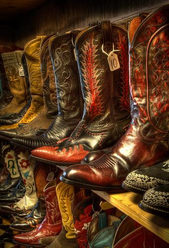 Cowboy Boots (Exhibition Crop)