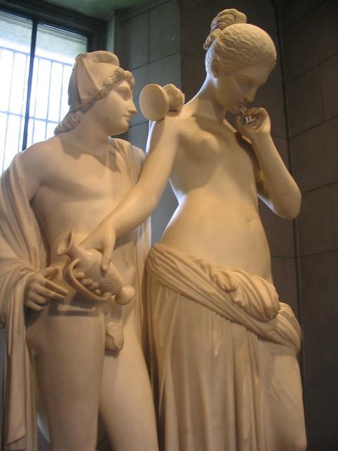 Venus And Adonis Statue classical statu...