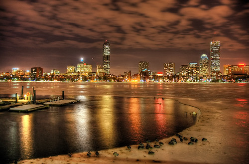 longexposure winter cambridge hancockbuilding boston skyline night landscape march cityscape mit massachusetts charlesriver contest ducks sheraton hdr lenoxhotel boatdock johnhancocktower prudentialtower bostoncom massachusettsinstituteoftechnology 111huntingtonavenue weatherphotography highdyanmicrange