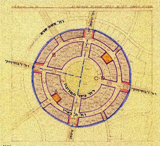 כיכר המדינה, תוכנית בינוי 1942