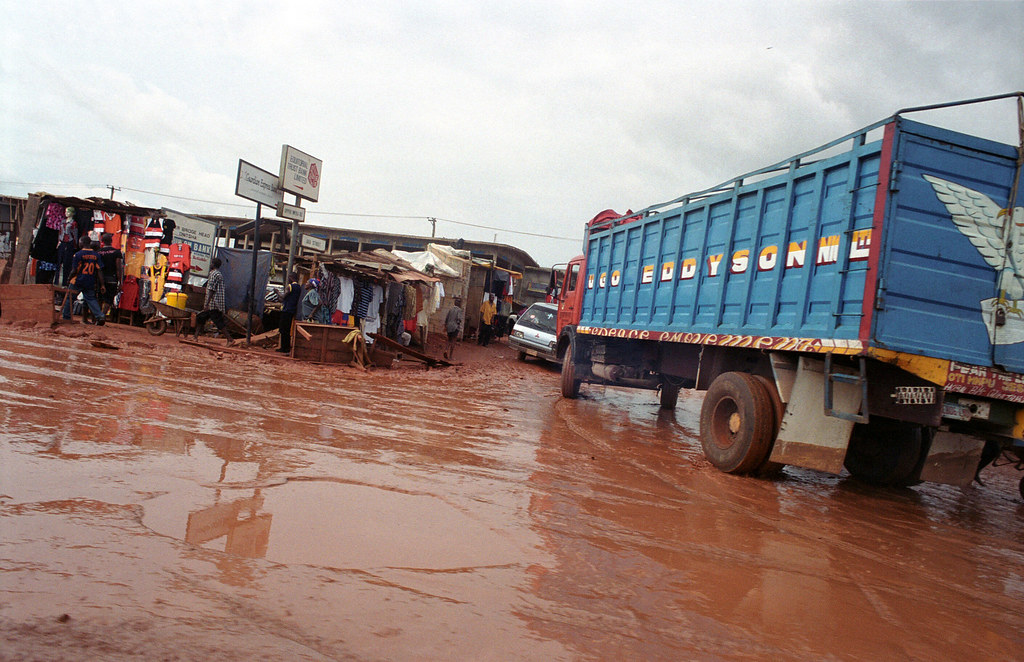 Onitsha Anambra State South Eastern Nigeria Africa's Biggest Market Oct 27 2002 927 near Neni
