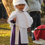 Semana Santa, Young Boy Dressed Up - Antigua, Guatemala
