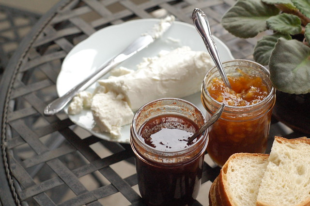 goat cheese and spreads