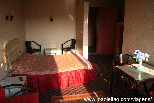 Photo of a double room with private bathroom in Otel Lider at Esenler Otogar in Istanbul Turkey