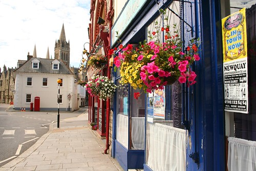 Three Rivers Cafe (formerly the Dolphin Cafe), Truro, Cornwall by Stocker Images