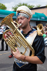 musician, tuba, musical instrument, music, brass instrument,