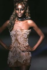 ringlet, model, cocktail dress, runway, fashion, fashion show, long hair, fashion model, haute couture, dress,