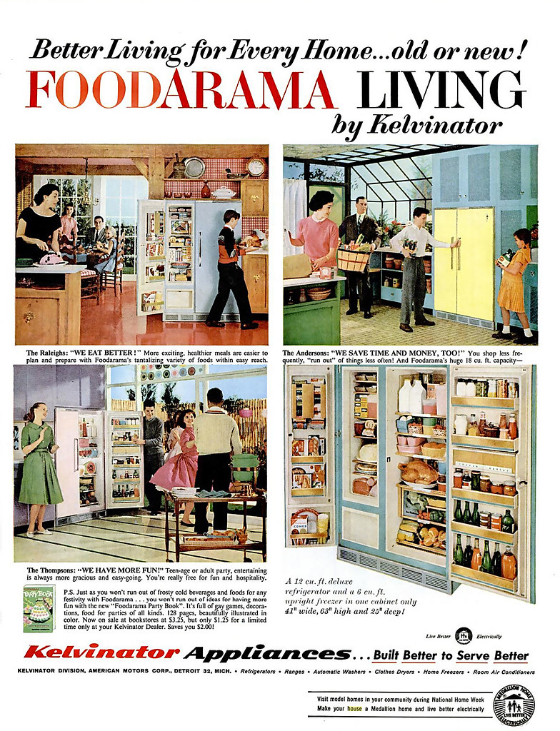 1959 ... the food-a-rama life!