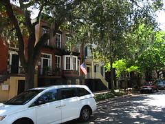 Jones Street and Abercorn Street, Savannah, Georgia