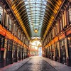 Leadenhall Market is one of the oldest markets in London, with roots going back to the 14th century. In fact, it sits at the center of what was once Roman London (or Londinium). If you're a Harry Potter fan, you'll recognize it as the area around Diagon A