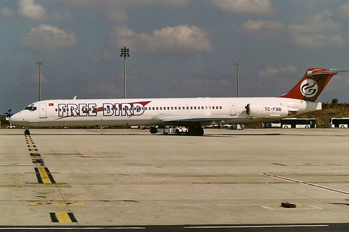 Freebird Airlines MD83 TC-FBB