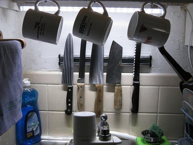 Kitchen Cabinet Knife Drawer Organizers