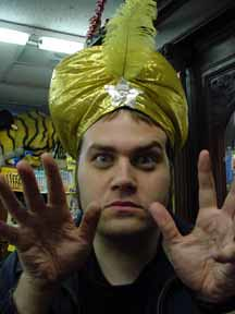 Swami hat at Uncle Fun 2003 by tetragramm