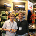 Dr. Eric Meyer and Kris Klinke in Adventure Medical Kits Booth.