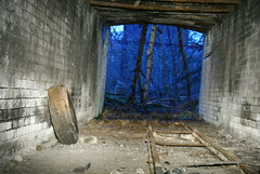 Tunnel at Harefield Limeworks.