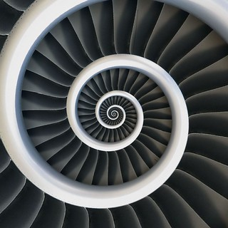 Birdproof Spiral Jet Engine