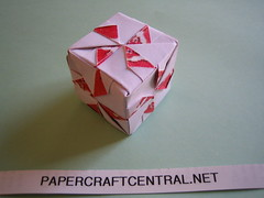 Paper Ornament 24 Photos | Kusudama - Fancy Wheel Cube | 531