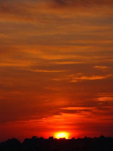 sunset sun sunrise