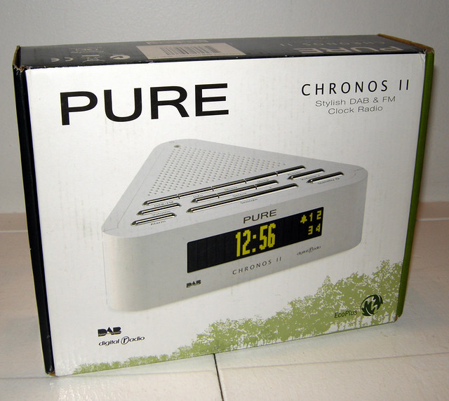 pure chronos ii dab digital radio alarm clock flickr photo sharing. Black Bedroom Furniture Sets. Home Design Ideas