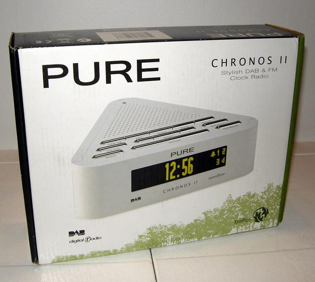 pure chronos ii dab digital radio alarm clock flickr. Black Bedroom Furniture Sets. Home Design Ideas