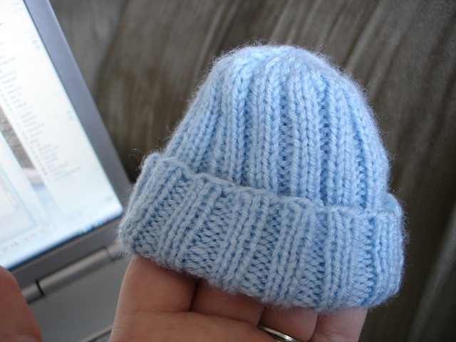 Easy Preemie Hat Knitting Pattern : Preemie Knit Hat Pattern   Design Patterns