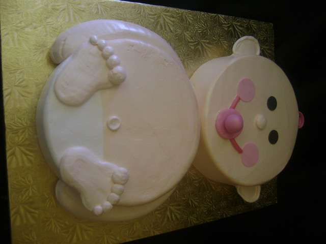 Shape Baby Cake Ideas and Designs