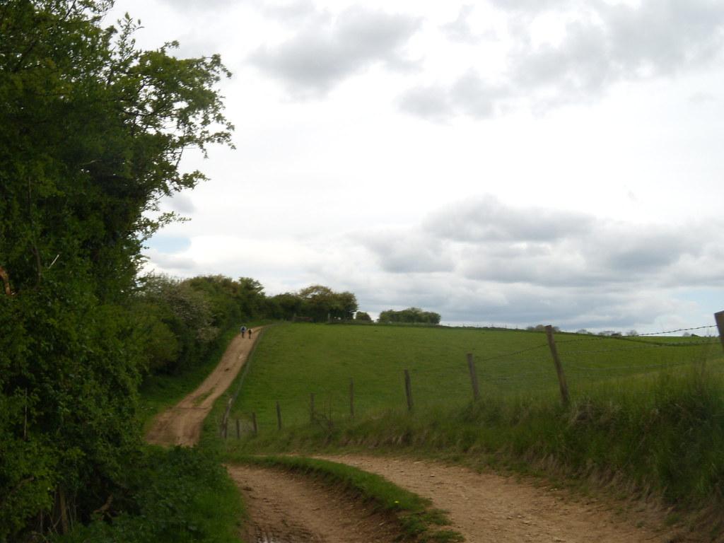 Path Hanborough to Charlbury