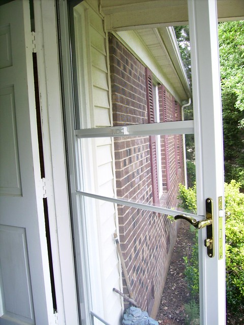 Storm Door With Retractable Screen Flickr Photo Sharing
