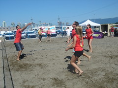 endurance sports(0.0), beach handball(0.0), beach(1.0), sports(1.0), ball game(1.0), beach volleyball(1.0), tournament(1.0),
