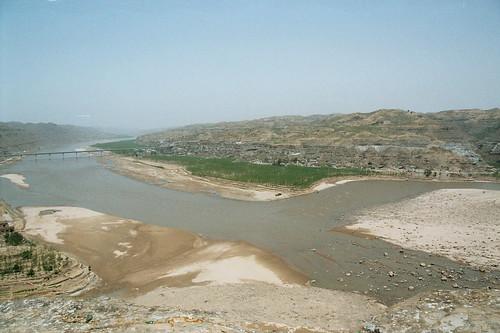 china landscape asia 中国 yellowriver landschaft 2009 shaanxi yulin loess 榆林 löss gelberfluss ordosdesert renateeichert resilu