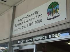 Annerley Community Bookshop, Ipswich Rd, Annerley Junction, Brisbane, Queensland, Australia 090617-1