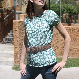 Peasant Top by Melanie