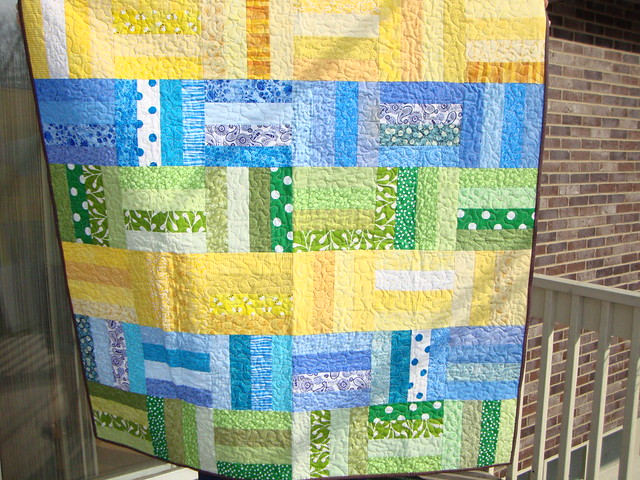 gender neutral baby quilt