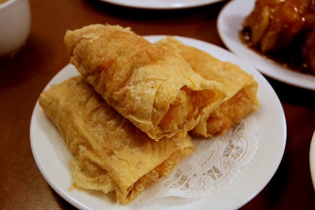 Deep Fried Tofu Skin Wrapped Shrimp... Thing. | Somewhere in ...