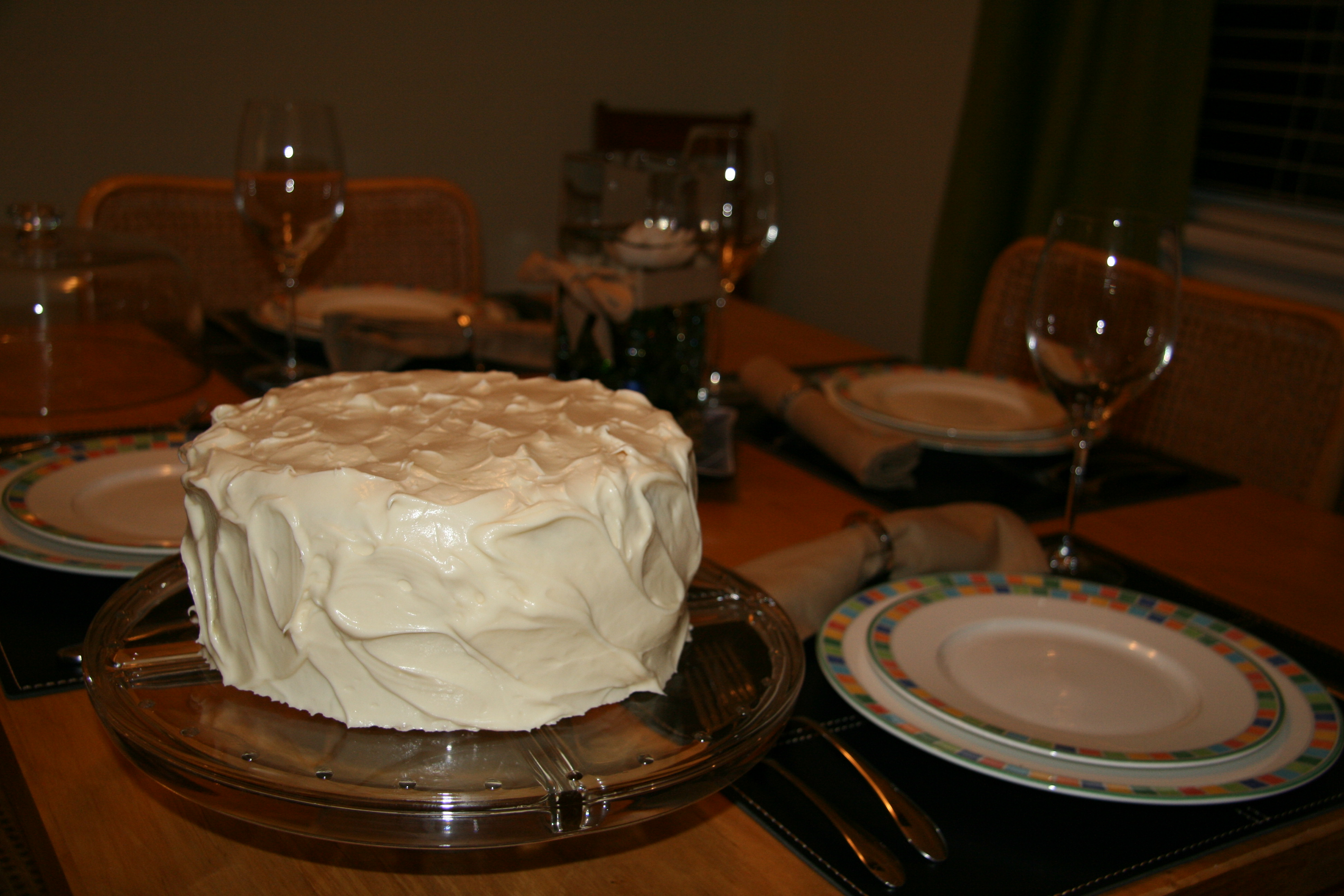 Epicurious Triple Layer Carrot Cake With Cream Cheese Frosting
