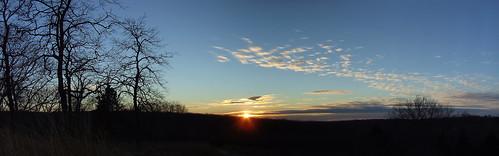 sunset sky clouds panoramic columbiamo rockbridge rockbridgestatepark perfectsunsetssunrisesandskys