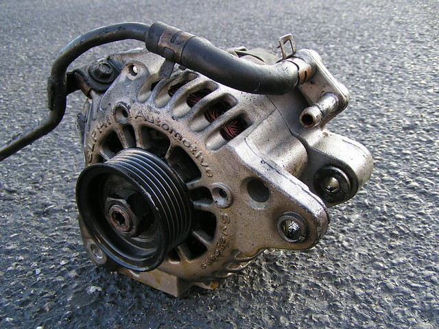 Water Cooled Alternator