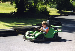 auto racing(0.0), automobile(0.0), kart racing(0.0), motorcycle(0.0), golf cart(0.0), driving(1.0), go-kart(1.0), racing(1.0), vehicle(1.0), land vehicle(1.0), sports car(1.0),