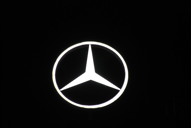 Photo for Mercedes benz sign in