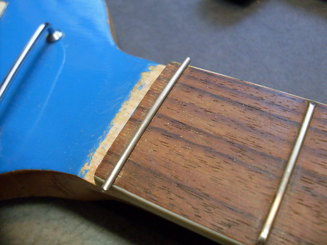 Photo:New Fret Installed. By Roadside Guitars
