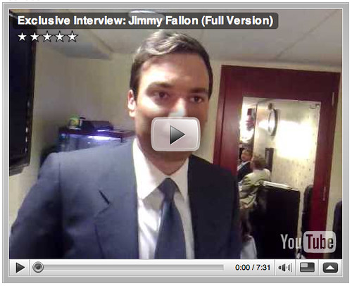 Exclusive Interview: Jimmy Fallon (Full Version)