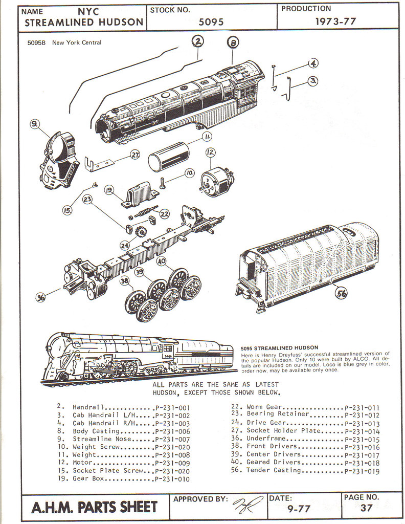 steam locomotive parts diagram
