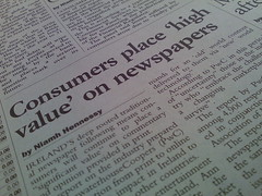 Newspapers Valued